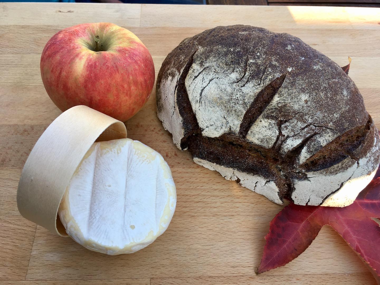Maronen-Apfel-Brot