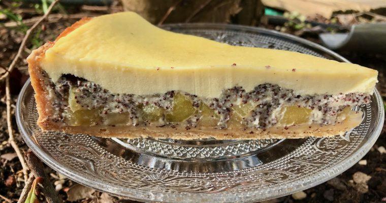 Apfel-Mohn-Schmand-Kuchen