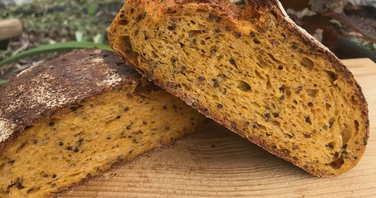 Süßkartoffel-Quinoa-Brot