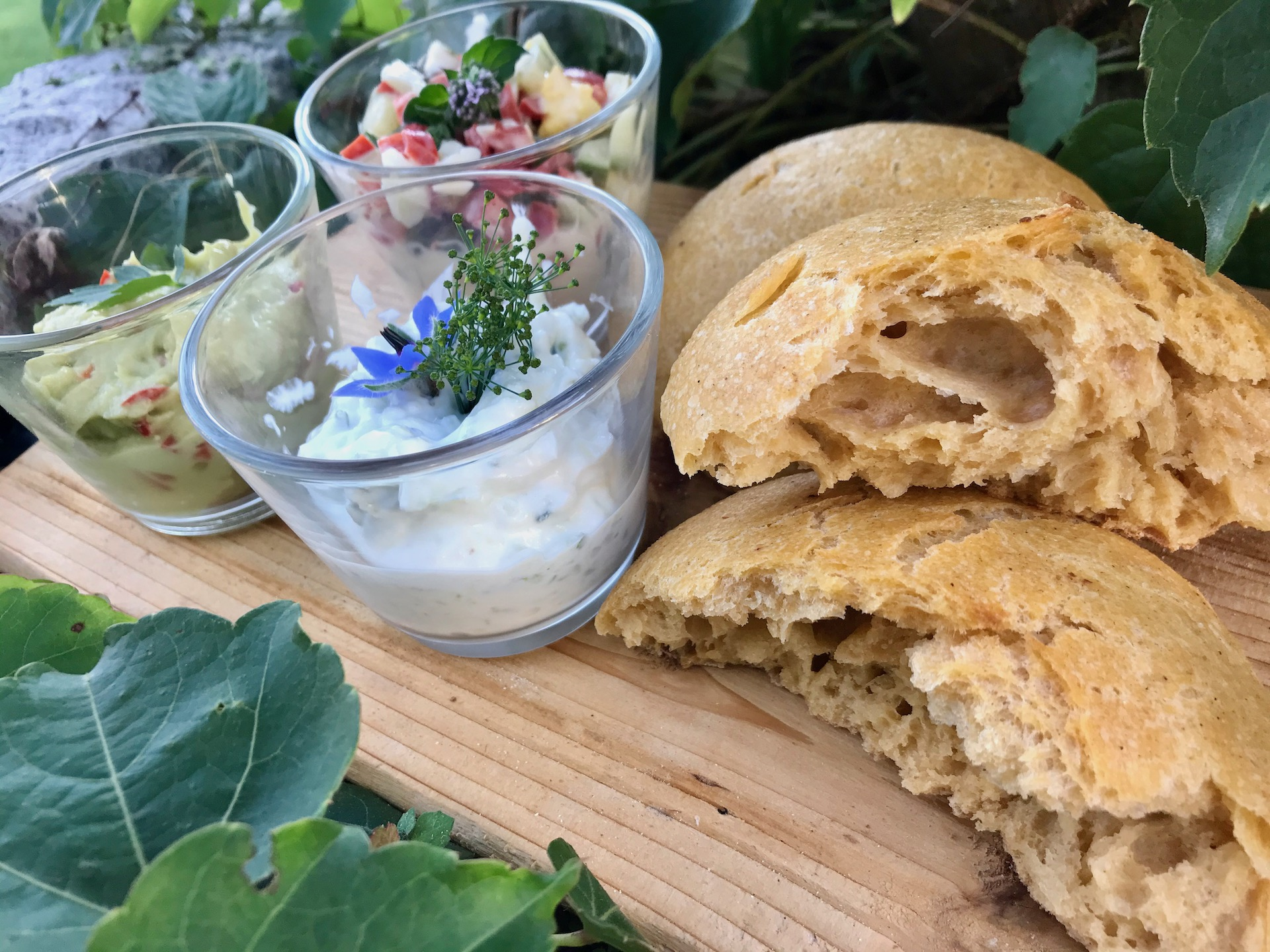 Bolo di Caco, Süßkartoffelbrötchen aus Madeira