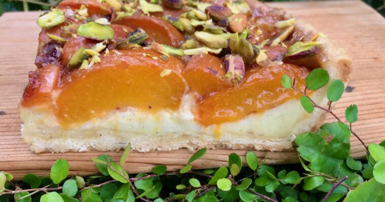 Aprikosen-Vanillecreme-Kuchen